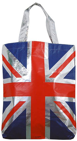 Union Jack Non Woven Shopping Bag