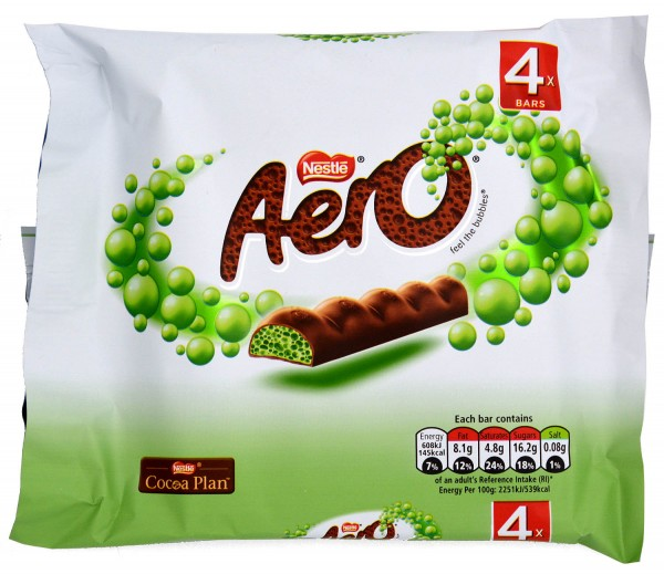 Nestle Aero Peppermint 4er Pack 108g