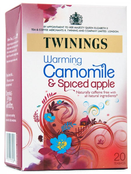 Twinings Camomile & Spiced Apple - Kamille & Bratapfel
