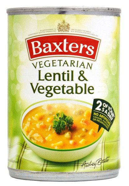 Baxters Lentil & Vegetable Soup 400g