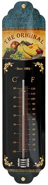 Thermometer ´The Original Late Vintage Fruits´