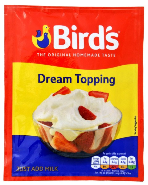 Bird´s Dream Topping 36g