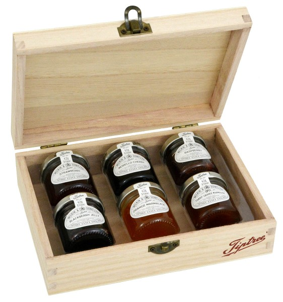 Wilkin & Sons Tiptree Wooden Box Selection 6x42g