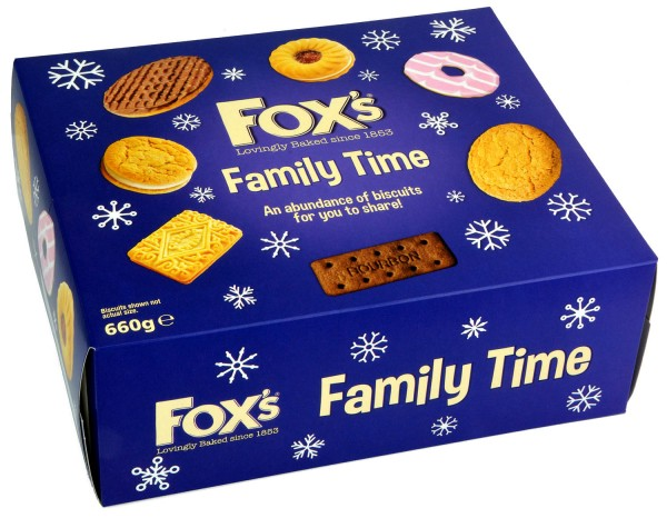 Foxs Family Time Biscuits Assortment 660g