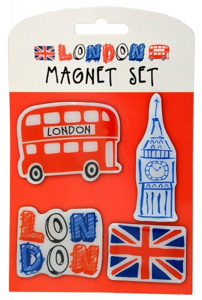 London Magnet Set 4 pcs.