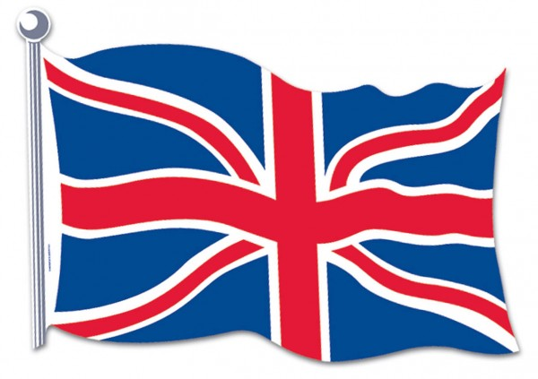 Beistle Union Jack Deko-Element British Flag