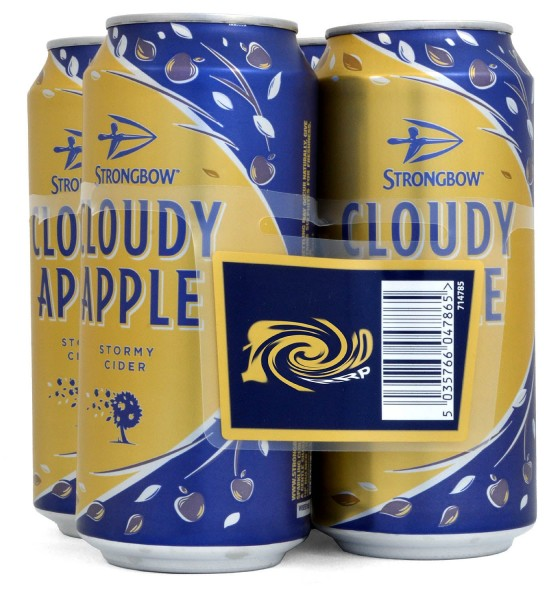 Strongbow Cloudy Apple Cider 4x440ml