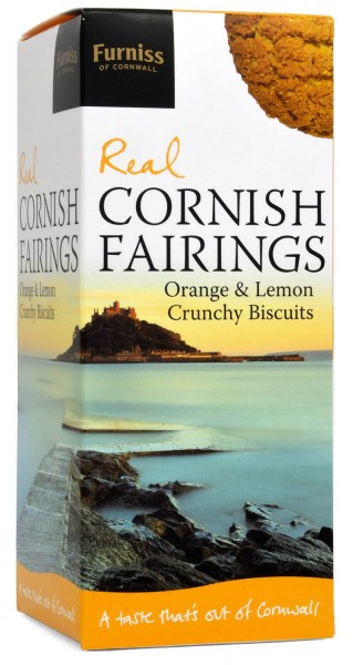 Furniss Real Cornish Fairings Orange & Lemon Biscuits 200g