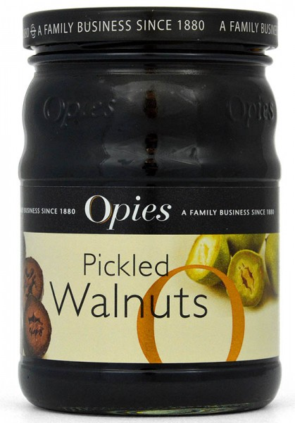 Opies Pickled Walnuts - Walnüsse in Malzessig