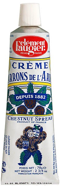 Clement Faugier Chestnut Spread Tube 78g