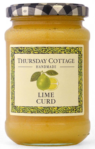Thursday Cottage Lime Curd 310g - Limetten-Aufstrich