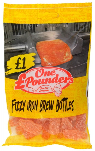 One Pounders Fizzy Iron Brew Bottles 150g