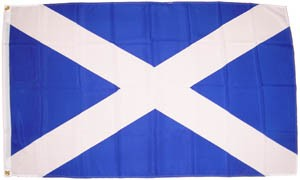 Scotland St. Andrews Cross 90 x 150 cm