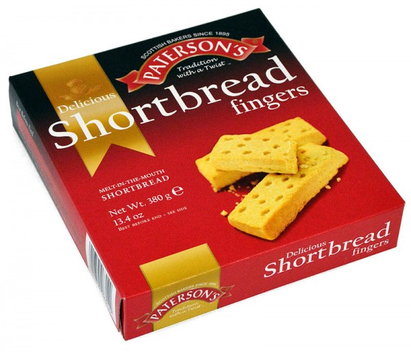 Patersons Shortbread Fingers 380g