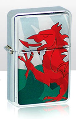 Welsh Dragon Sturmfeuerzeug
