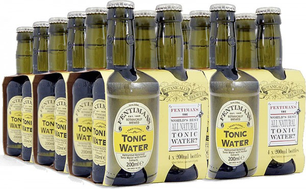 Fentimans Tonic Water 200ml, 24er-Tray