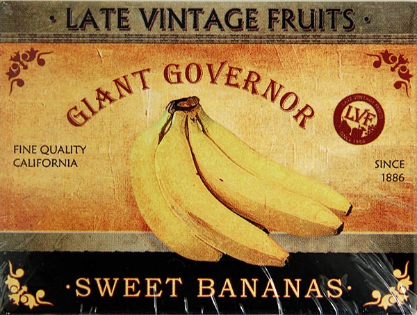 Magnet ´Giant Governor - Sweet Bananas´