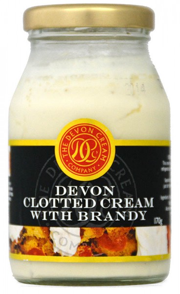 Devon English Clotted Cream with Brandy 170g