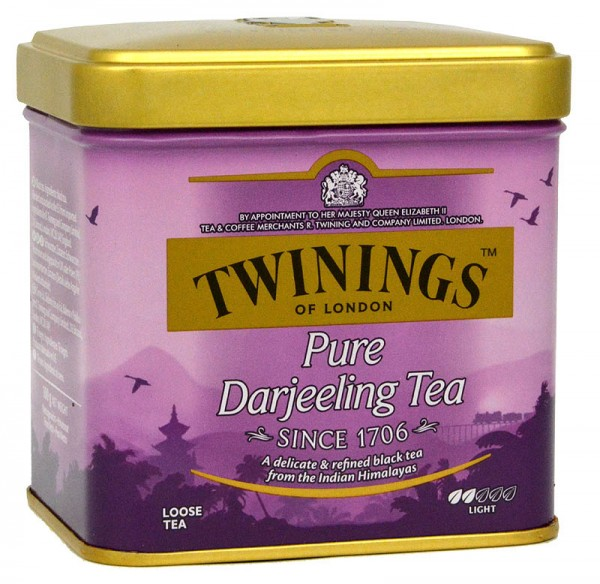 Twinings Darjeeling 100 g lose in der Dose
