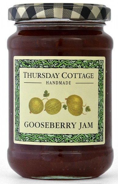 Thursday Cottage Gooseberry Jam 340g - Stachelbeere
