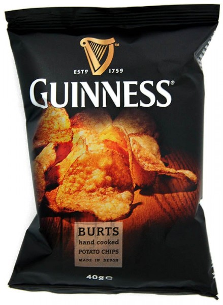 Guinness Flavour Potato Chips 20 x 40g