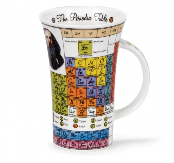 Dunoon Glencoe The Periodic Table by Jane Goodwin