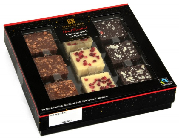 Co-op Irresistible Chocolatier`s Collection 110g