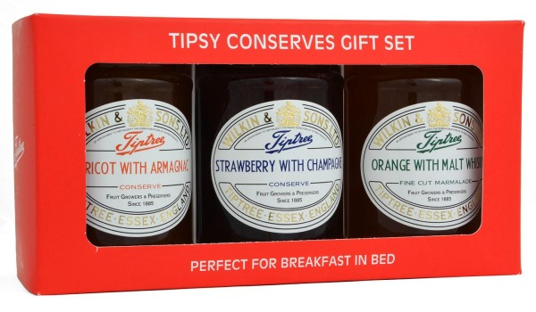 Wilkin & Sons Tipsy Conserves Gift Set 3 x 340g