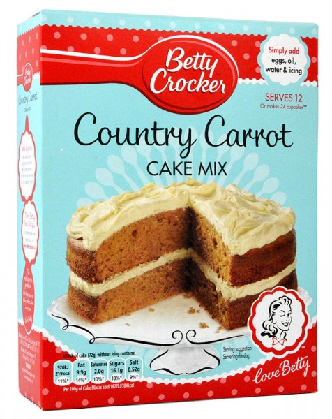 Betty Crocker Carrot Cake Mix