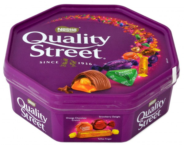 Nestle Quality Street in a Tub
