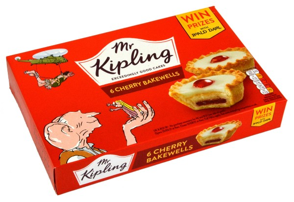 Mr. Kipling 6 Cherry Bakewells