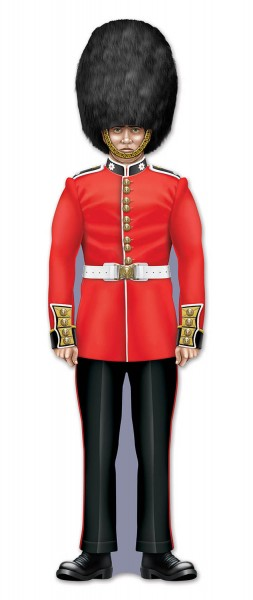 Beistle Royal British Guard Deko-Element 90cm