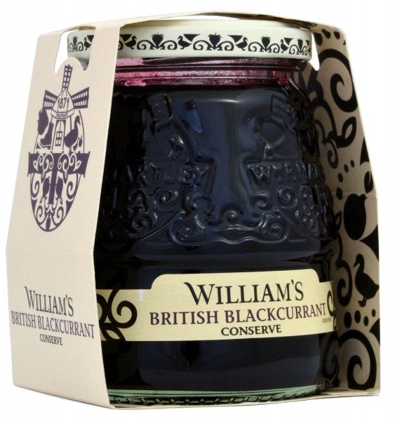 Williams British Blackcurrant Conserve 340g