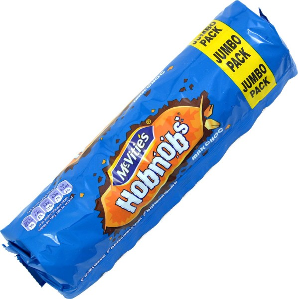 McVities Hobnobs Milk Chocolate 431g