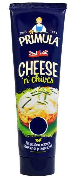 Primula Cheese and Chives Tube