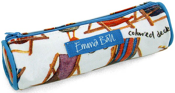 Coastal Small Pencil Case by Emma Ball