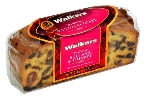 Walkers Traditional Sultana & Cherry Cake 350g