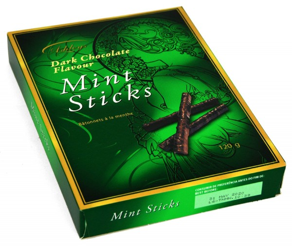 Ashleys Mint Sticks 120g