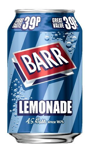 Barr Lemonade 330ml Dose