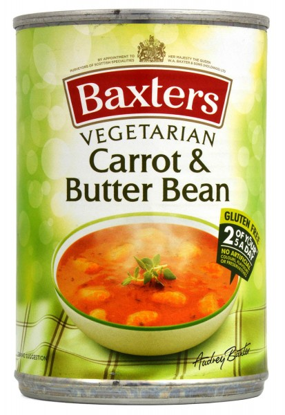 Baxters Carrot & Butter Bean Soup