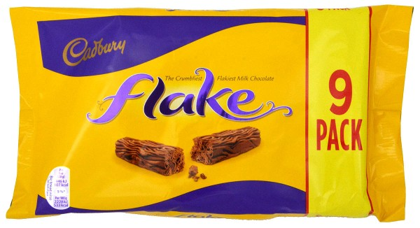 Cadbury Flake 9er-Pack 180g