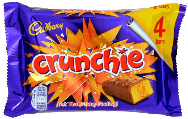 Cadbury Crunchie 4er-Pack 104,4g