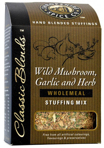 Shropshire Wild Mushroom, Garlic & Herb Stuffing Mix