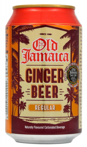 Old Jamaica Ginger Beer 330ml, Dose 0,33l