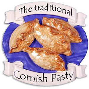 The traditional Cornish Pasty Magnet