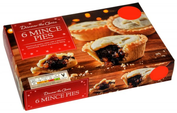 Discover the Choice 6 Mince Pies
