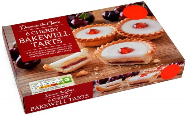 Discover the Choice 6 Cherry Bakewells 252g