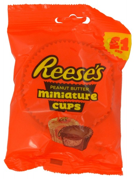 Reeses Peanut Butter Cups Miniatures 72g