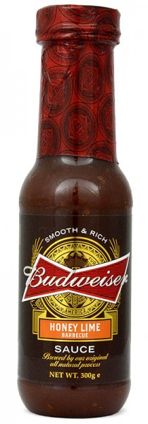 Budweiser Honey Lime Barbecue Sauce 300g
