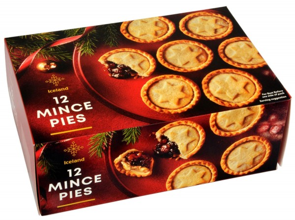 Iceland 12 Mince Pies 720g